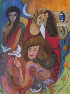 """Woman as Creator"" by Rosa Antonia"