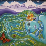 Goddess of the Mountains by Laurie Crain